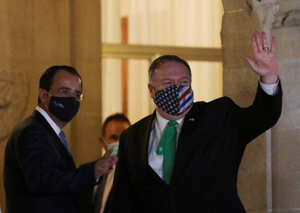 U.s. Secretary Of State Mike Pompeo Visits Cyprus