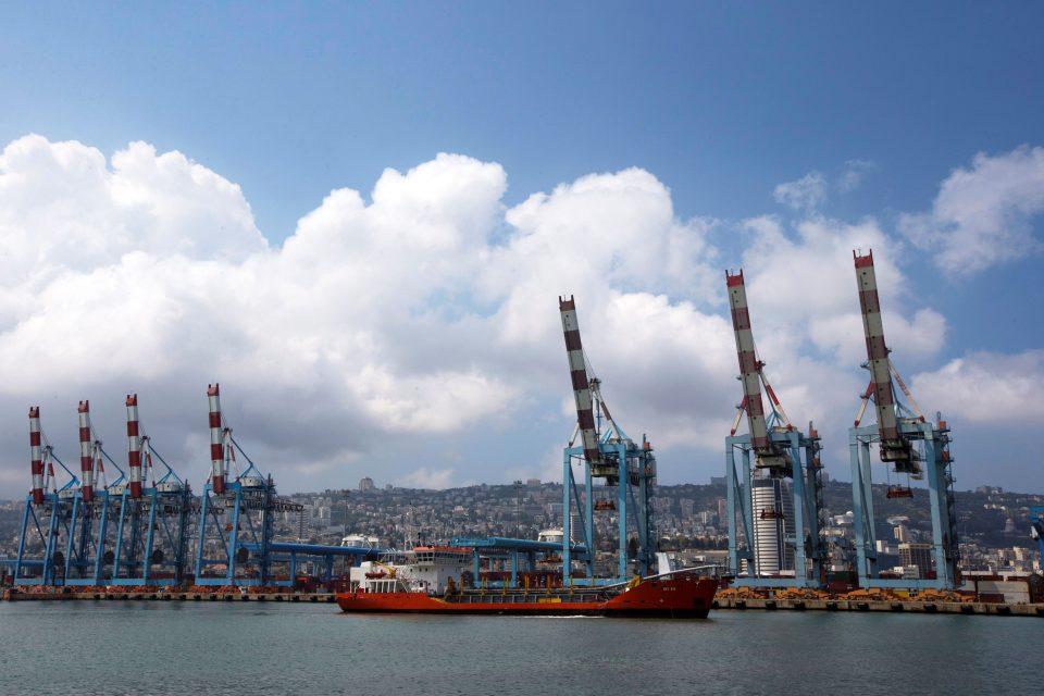 File Photo: Cranes Are Seen At The Port Of Haifa