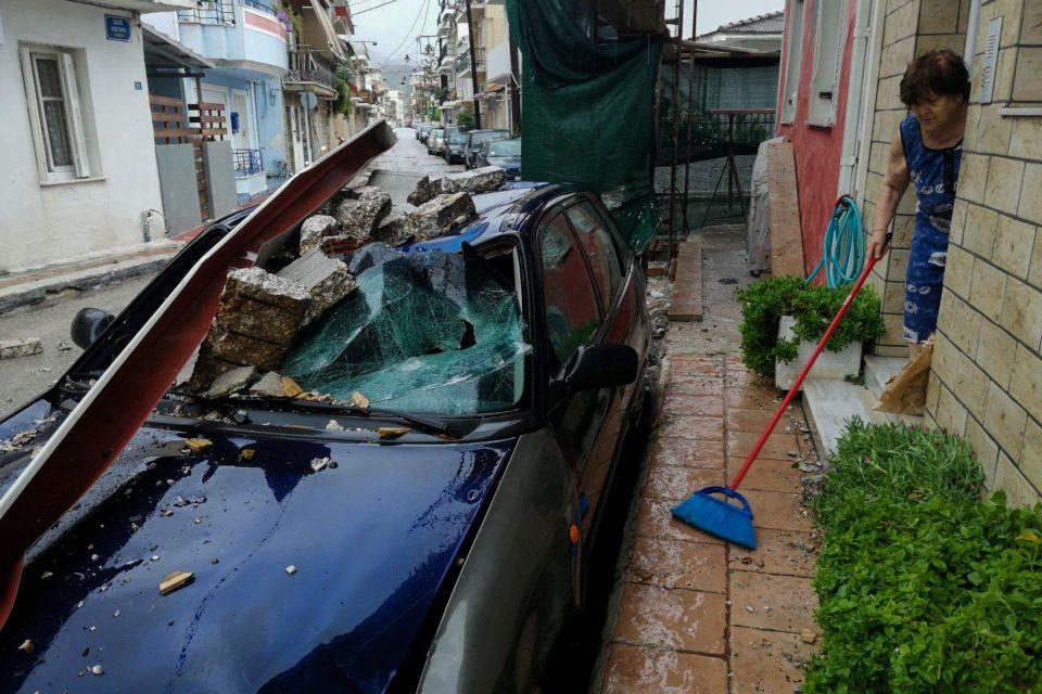 Rare Mediterranean storm batters western Greece, Ionian ...