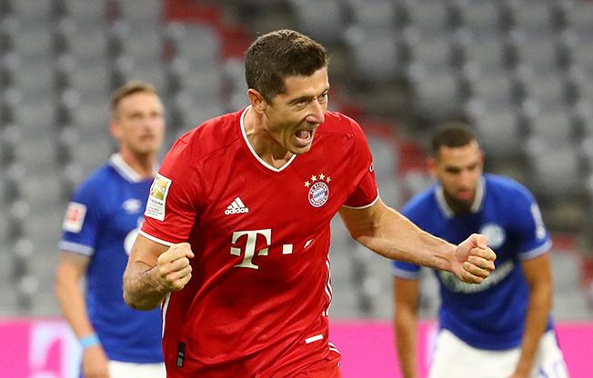 Bundesliga Bayern Munich V Schalke 04