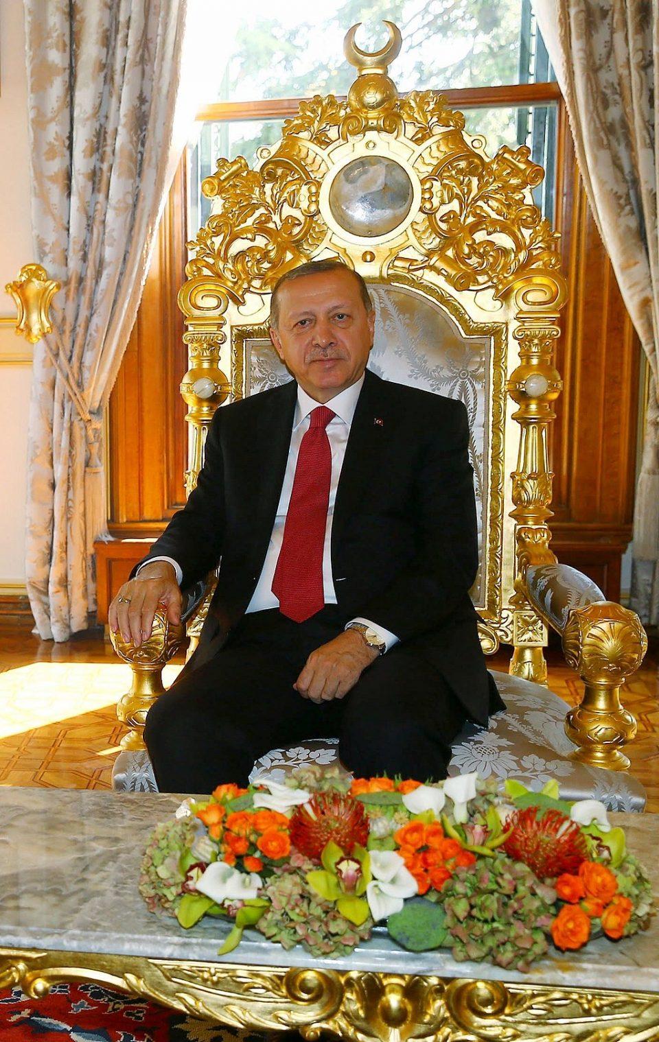 President Recep Tayyip Erdogan At Yildiz Palace In Istanbul