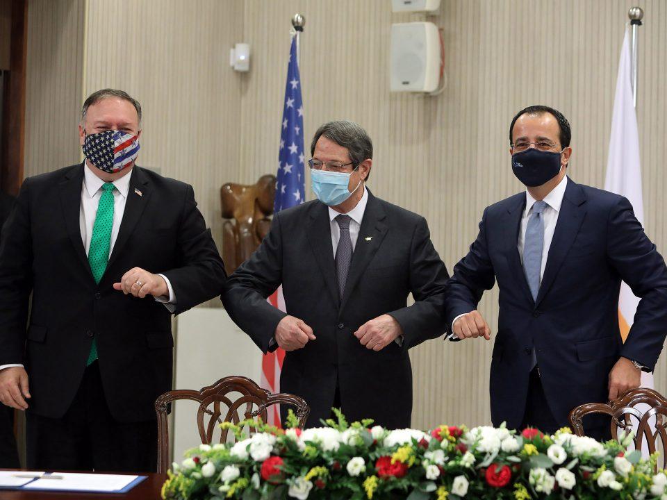 ΥΠΕΞ Κύπρου και ΗΠΑ//fms Of Cyprus And The Usa