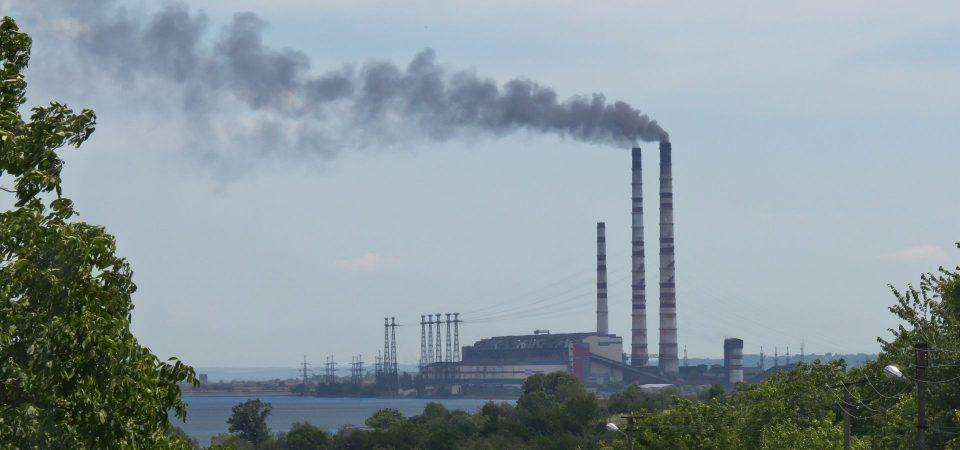 Power Plant Burshtyn Tes, Ukraine