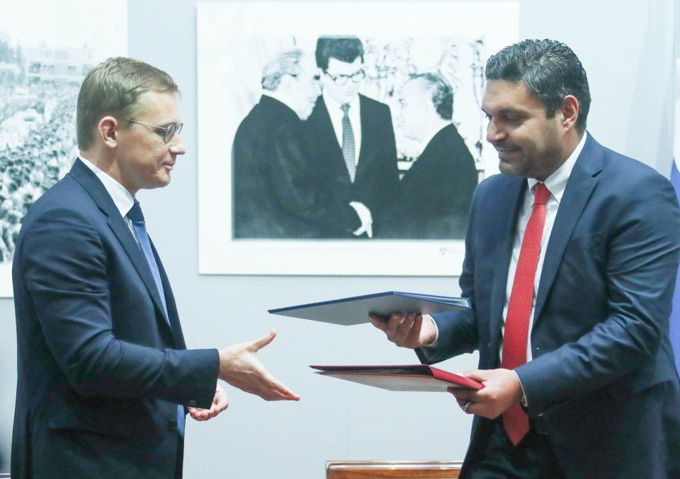 Υπογραφή διακρατικών Συμφωνιών // S