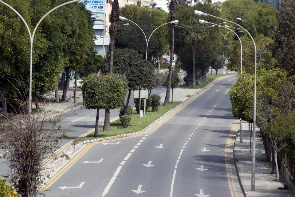 Empty Road Christos