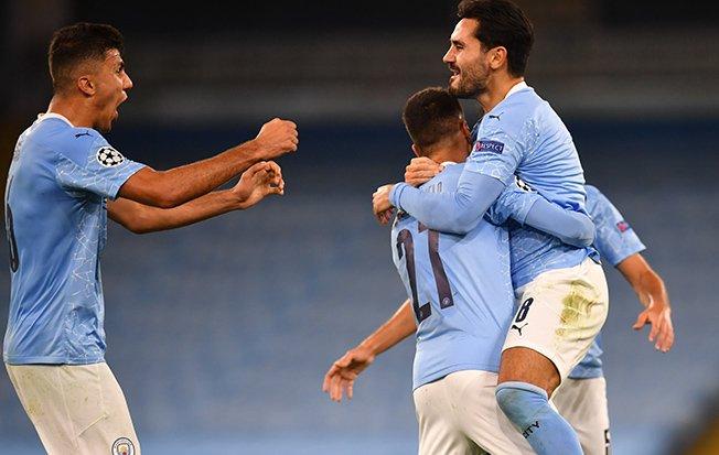 Man City come back for 3-1 win over Porto