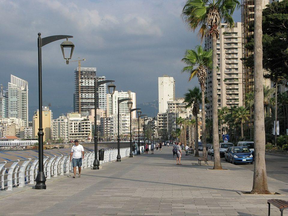Beirut Corniche, Beirut, Lebanon