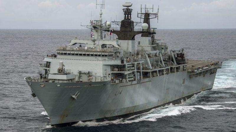 Hms Albion Leads Amphibious Forces Credit Royal Navy 220319
