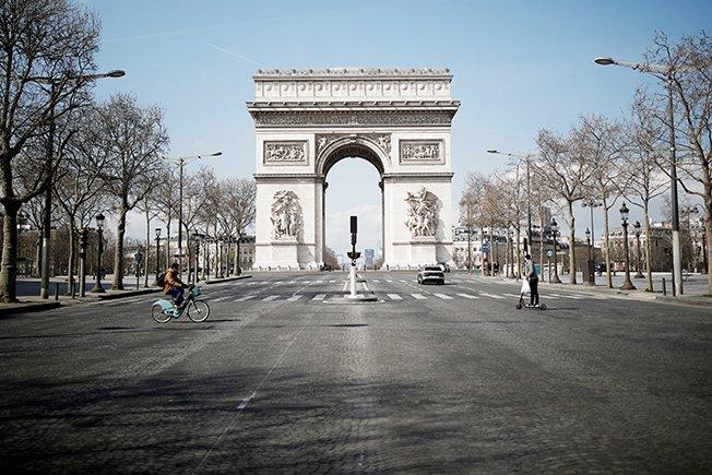 File Photo: Lockdown Imposed To Slow The Spreading Of The Coronavirus Disease (covid 19) In Paris