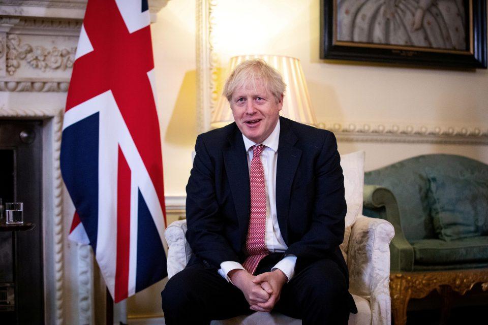 File Photo: Britain's Pm Johnson Meets Ukraine's President Zelenskiy In London