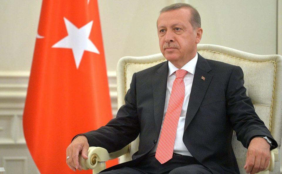 Erdogan Looks Down