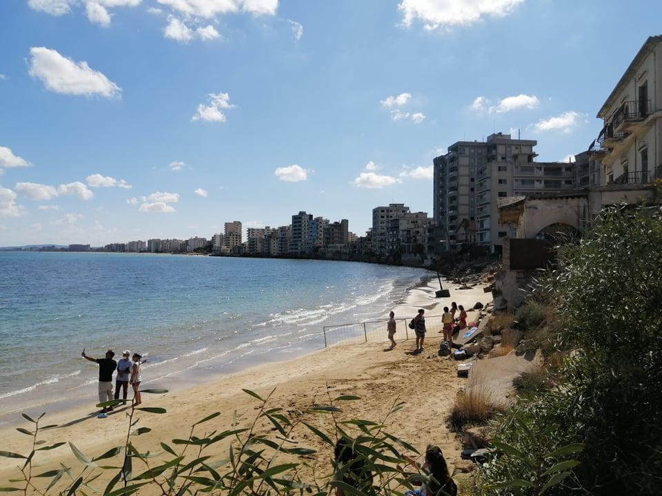 Feature Evie The Varosha Coastline (evie Andreou)
