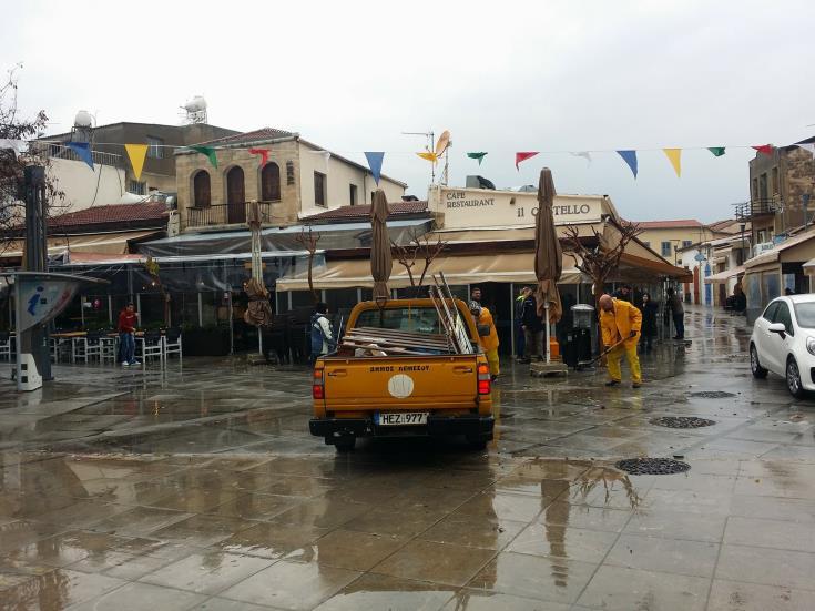 Limassol Flooding Cna File Photo