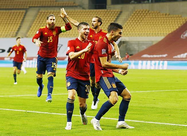 Uefa Nations League Group D Spain V Germany