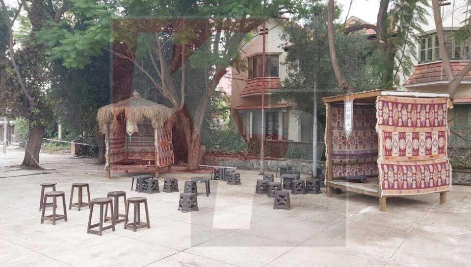 Feature Evie The Ottoman Style 'picnic' Area Set Up For The Turkish President's Visit To Varosha (kibris Potasi)