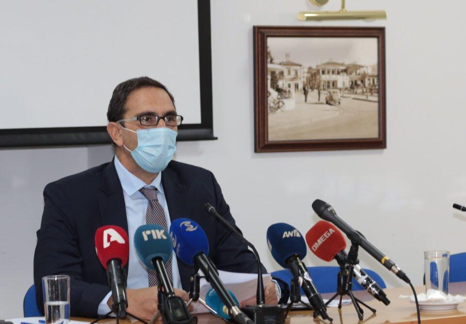 Υπουργός Υγείας – Συνέντευξη Τύπο