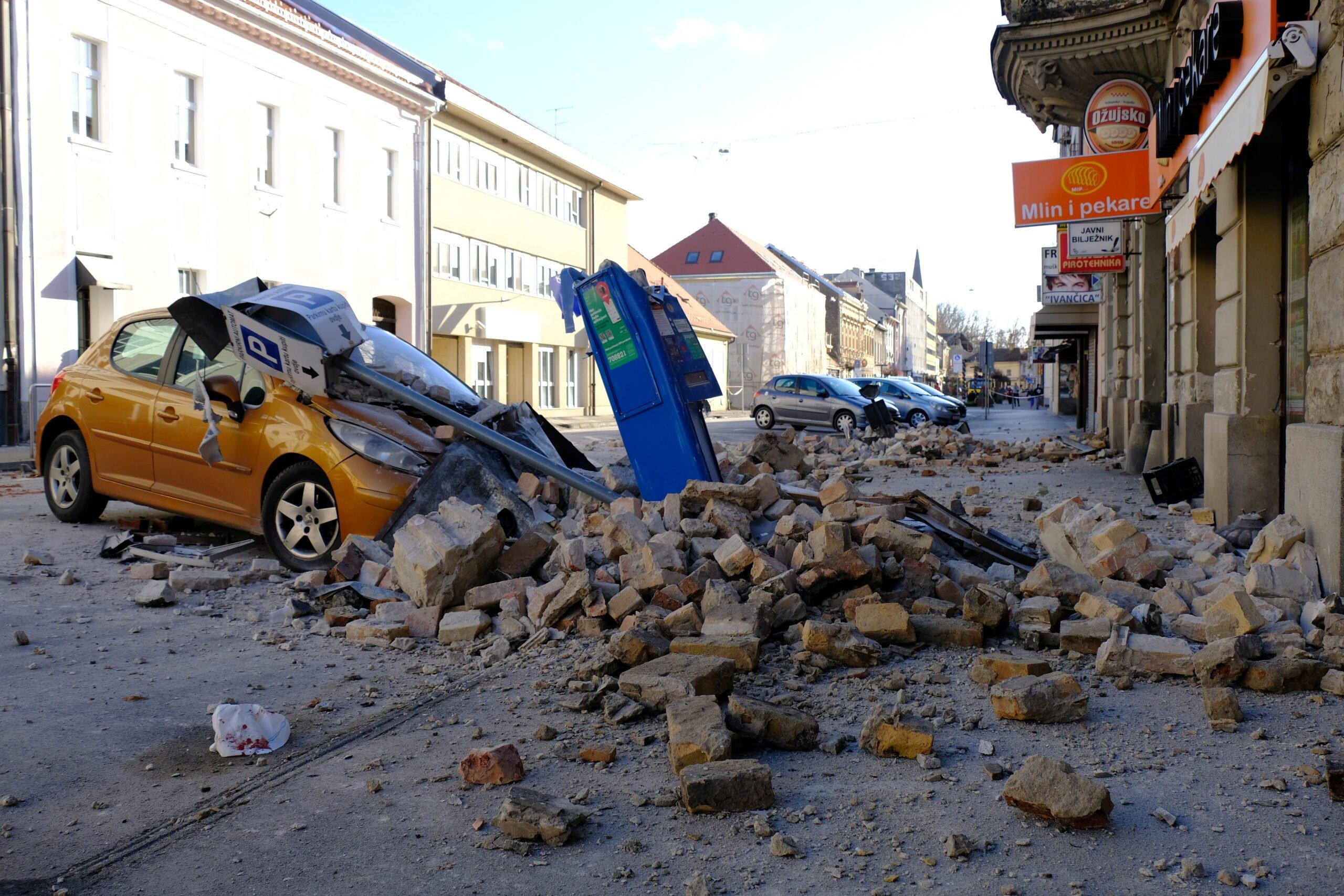 Κορίτσι σκοτώθηκε, πολλοί τραυματίστηκαν από σεισμό στην Κροατία