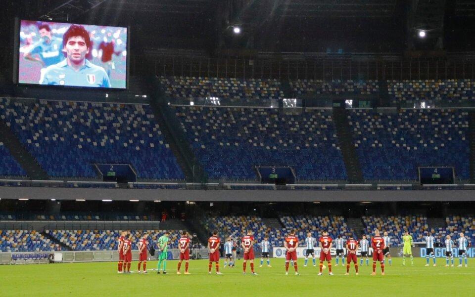 Serie A Napoli V As Roma