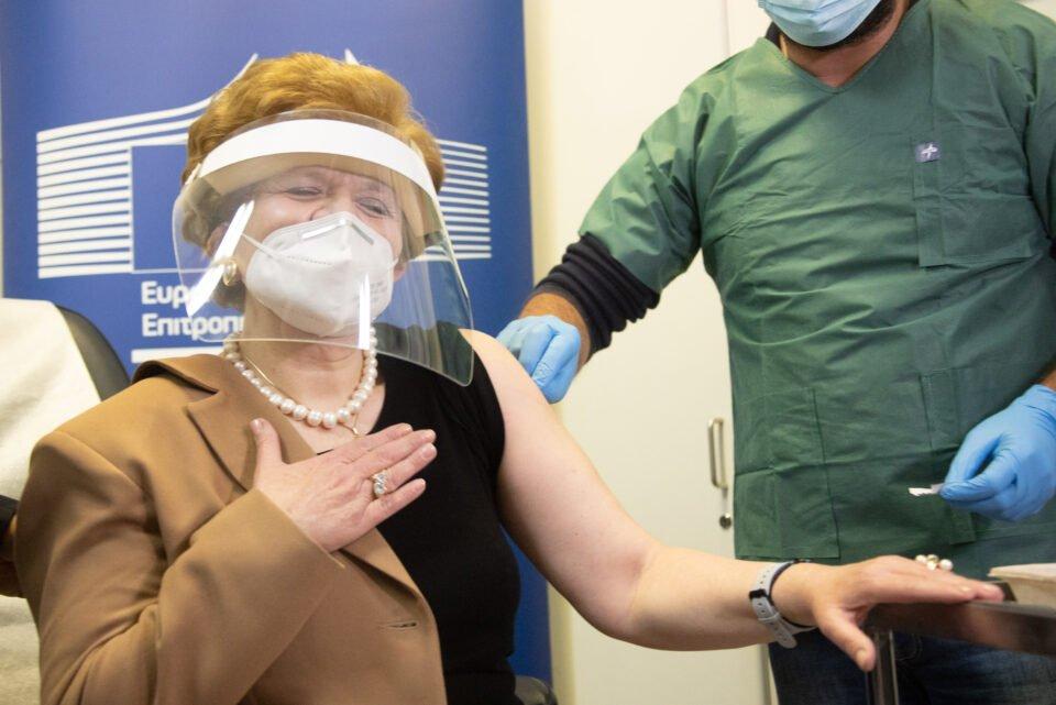 Εμβολιασμός στο Γενικό Νοσοκομείο