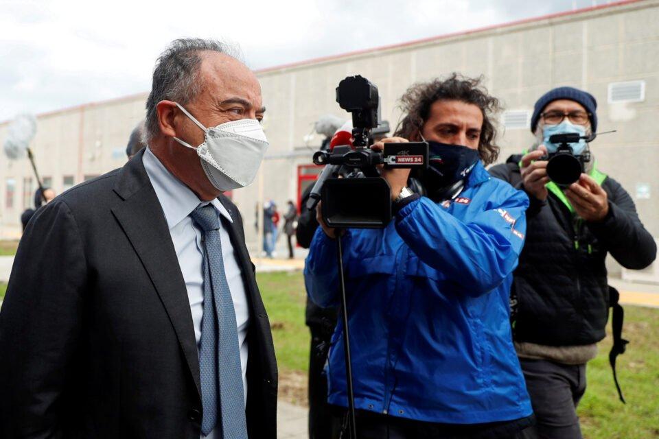 The Trial Of 355 Suspected Members Of The 'ndrangheta Mafia Opens In Lamezia Terme