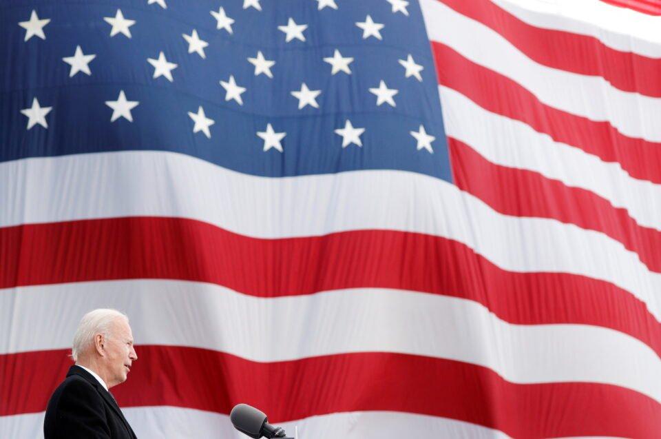 Joe Biden Visits Beau Biden National Guard/reserve Center In New Castle
