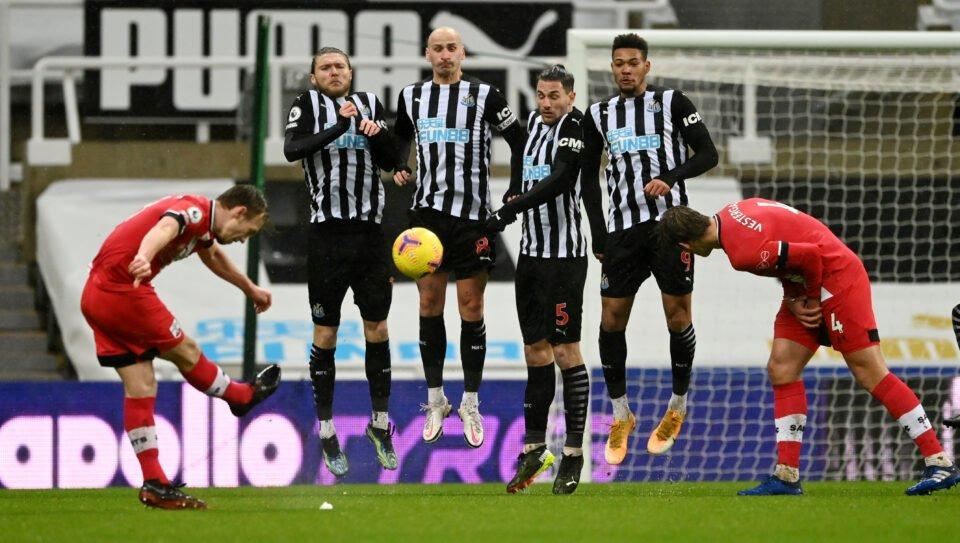 Premier League Newcastle United V Southampton