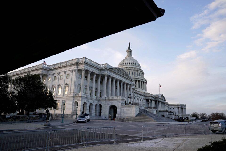 file photo: democrat's and republican's agreement on covid 19 relief bill in washington