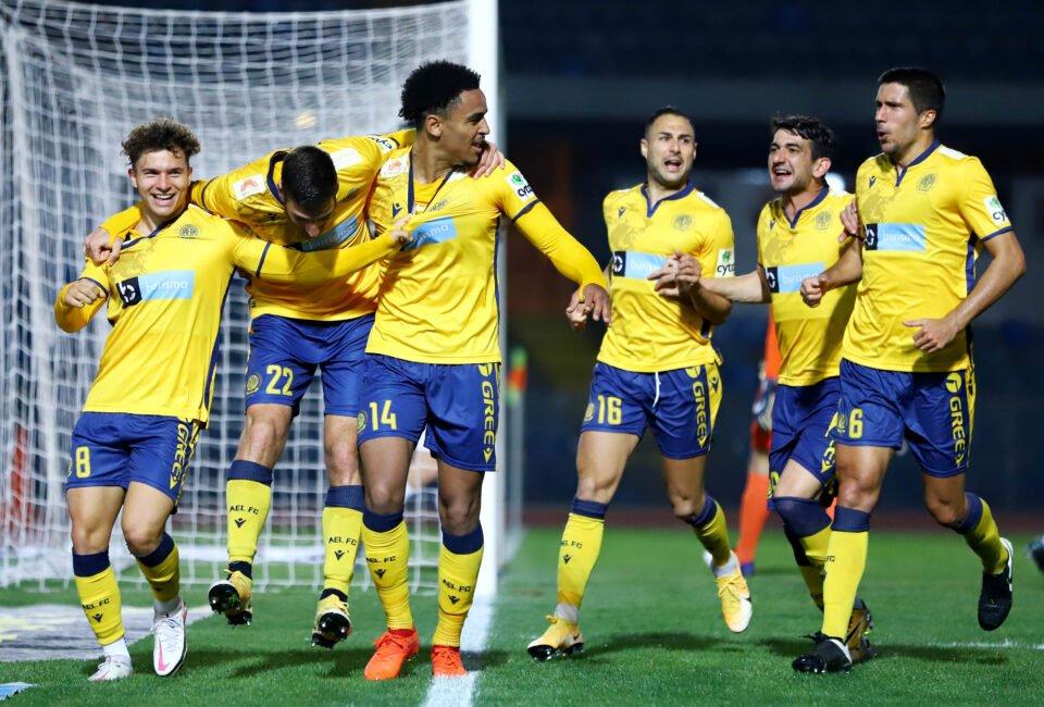 Cyprus Mail Ael Apoel Ryan Mmaee Goal Celebration