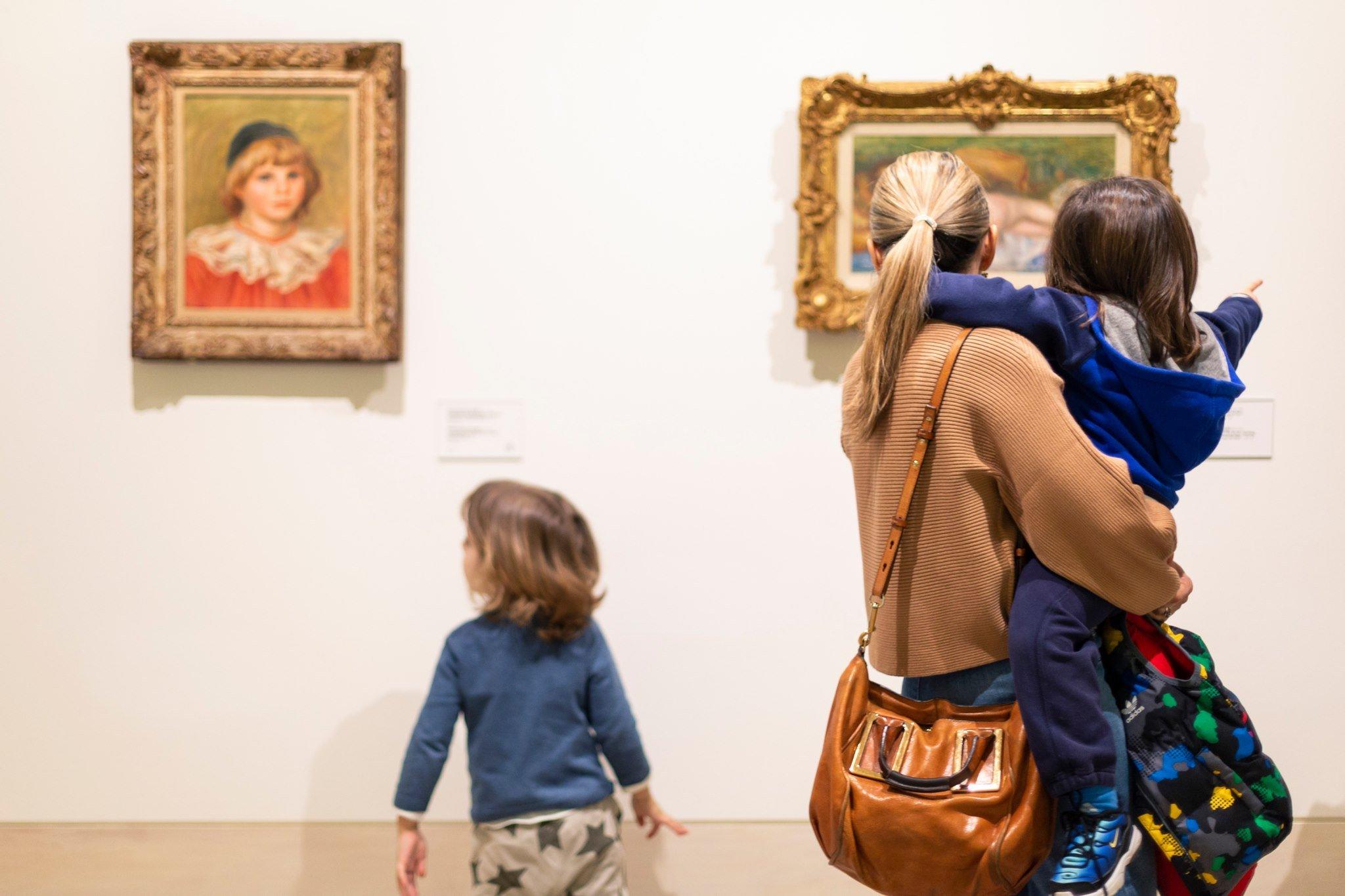 Αλληλεπιδράστε με την τέχνη στο Leventis Gallery
