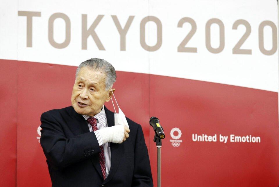 Tokyo Olympic Organizing Committee President Yoshiro Mori