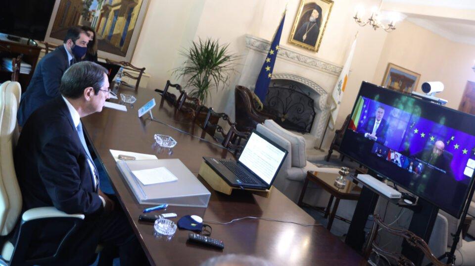 ΠτΔ – Τηλεδιάσκεψη Ευρωπαϊκού Συμ
