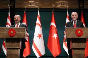 feature agnieska tatar in ankara with turkish president tayyip erdogan