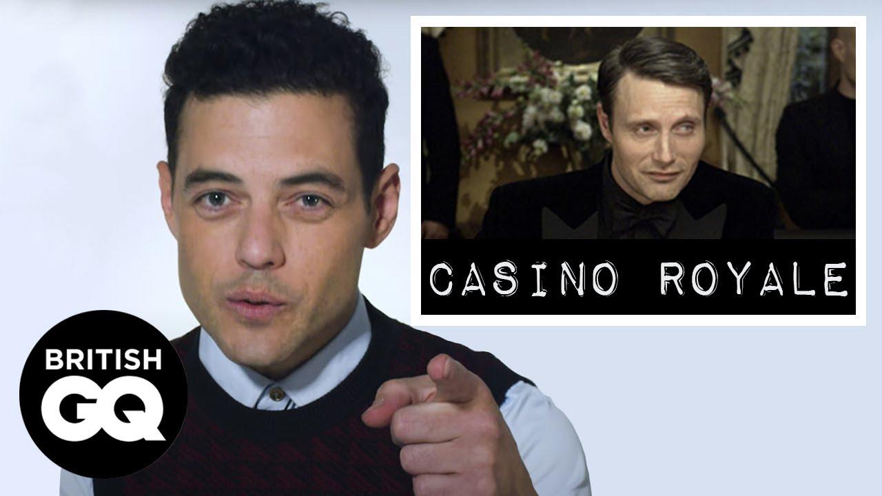 """Ο Rami Malek βαθμολογεί τους κακούς κακοποιούς """"James Bond"""""""