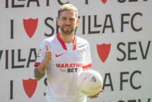 Sevilla Fc Presents Its New Player Argentinian Winger Alejandro 'papu' Gomez