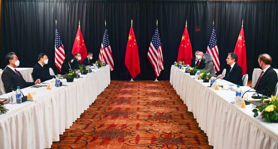 u.s. china talks in anchorage