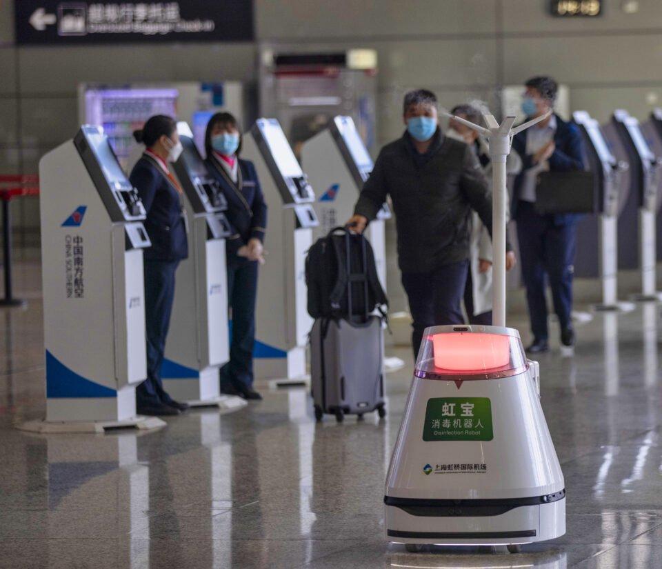 chinese new year travel rush in shanghai