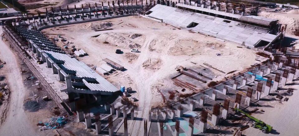 limassol arena apollon ael aris stadium new cyprus mail Aerial footage reveals Limassol Arena construction progress [video]