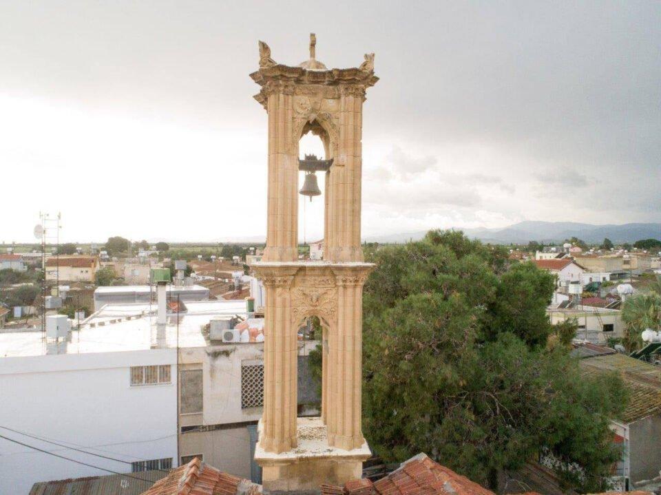 panagia evangelistria bell tower