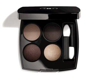 beauty2 chanel les 4 ombres multi effect quadra eyeshadow blurry grey