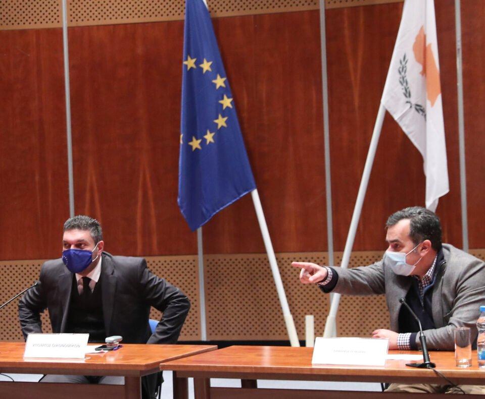 Υπουργός Οικονομικών – Συνάντηση