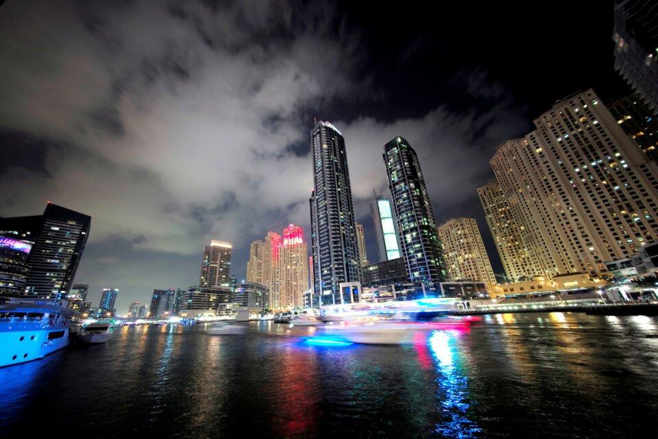 file photo: general view of dubai marina in dubai, united arab emirates