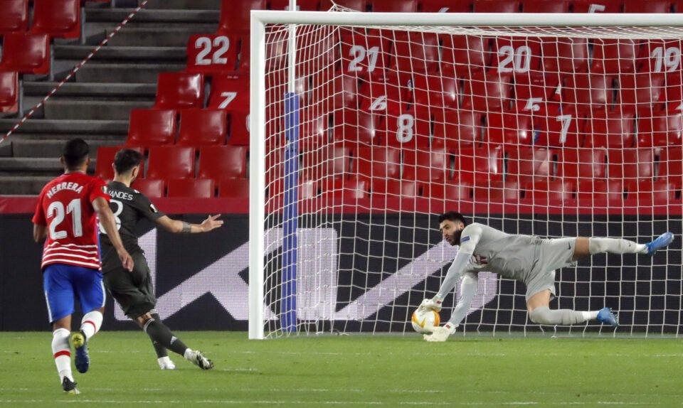 europa league quarter final first leg granada v manchester united