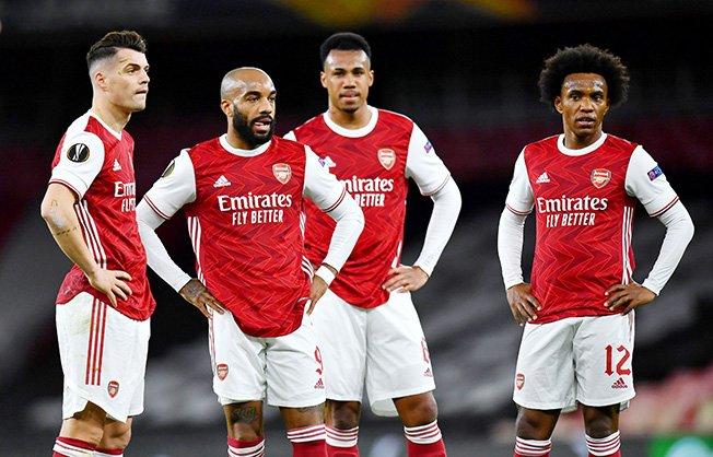 europa league quarter final first leg arsenal v slavia prague