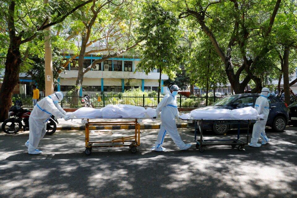 outbreak of the coronavirus disease (covid 19) in new delhi
