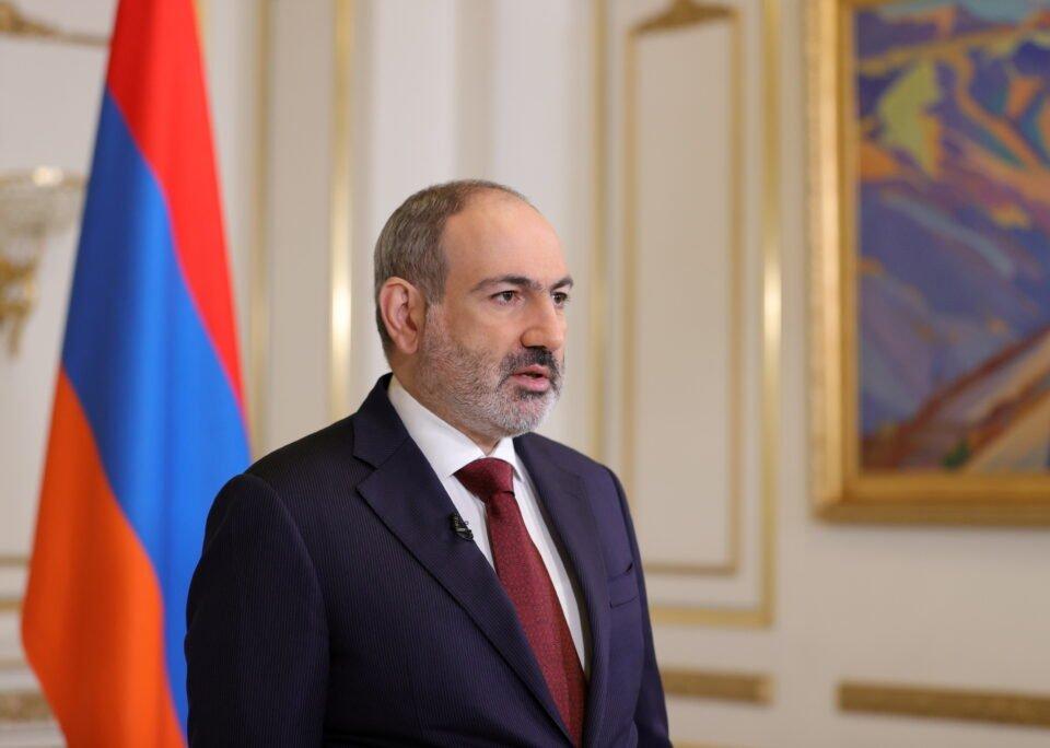 file photo: armenian prime minister nikol pashinyan addresses the nation in yerevan
