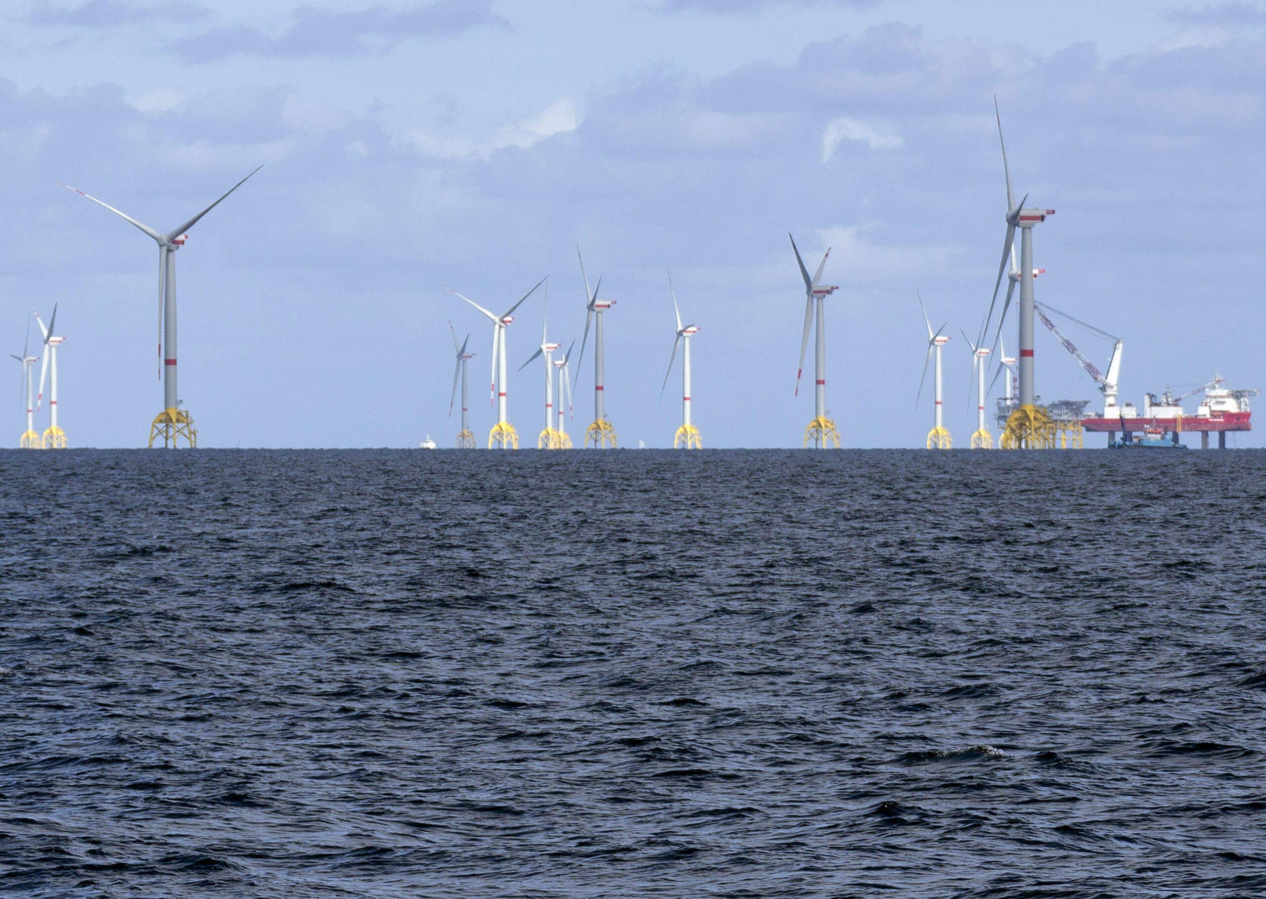 most powerful wind farm in german baltic sea