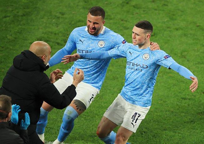 Η Man City φτάνει στο ημιτελικό του Champions League με νίκη 2-1 στο Ντόρτμουντ