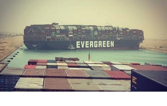 Το μπλοκ Suez Canal έχει παγκόσμιο αντίκτυπο