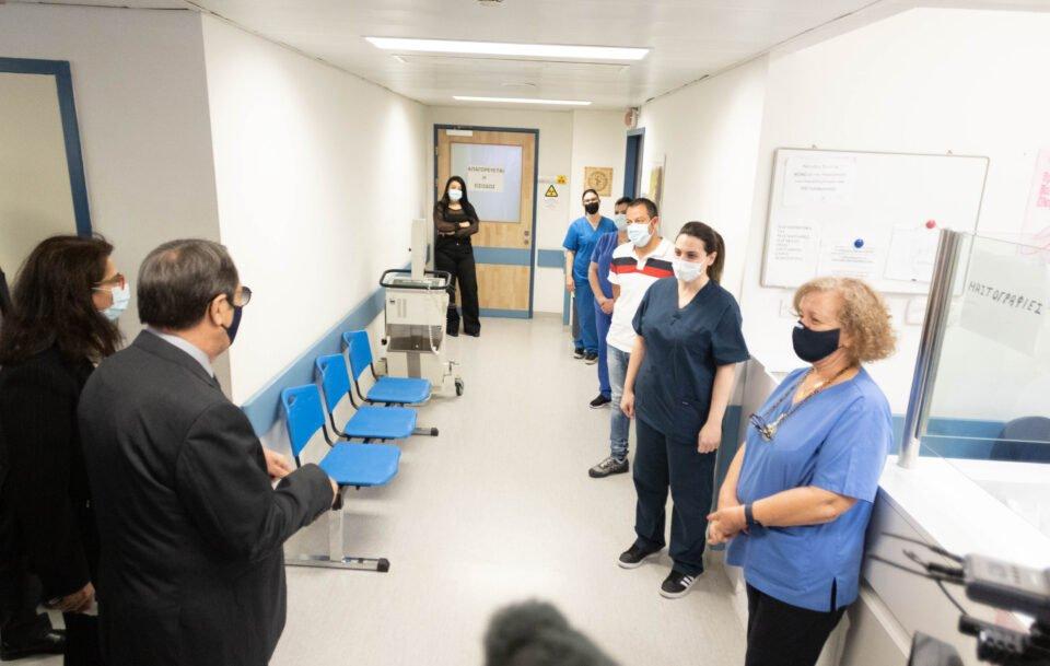 ΠτΔ – Επίσκεψη στο Νοσοκομείο Ανα