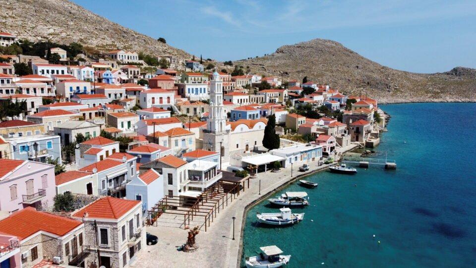 halki, a remote greek island, coronavirus free, waits for tourists